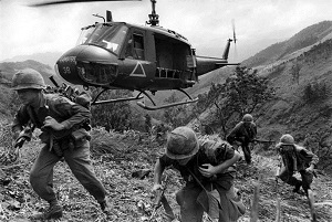 US airborne division South Vietnam. December 1967