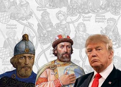Трамп потомок Рюрика
