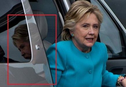 Мистическое фото Хиллари Клинтон - это не монтаж
