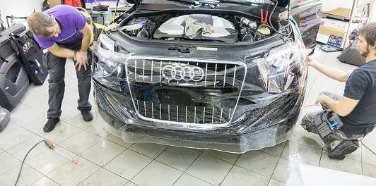Антигравийная пленка для защиты кузова авто - особенности преминения
