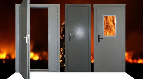 Где купить двери в Москве - противопожарные, металлические и нержавеющие модели