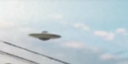 НЛО пролетел прямо над головой американца (видео подтверждение инцидента)