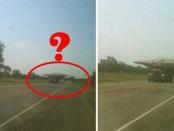 В США зафиксировали перевозку НЛО прямо на дороге