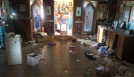 В Одессе неизвестные разгромили храм Московского патриархата