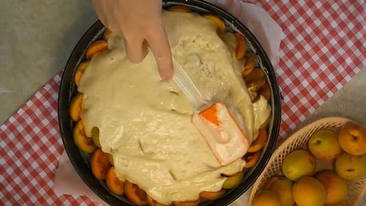 Вкусный пирог с абрикосами - рецепт блюда и видео приготовления
