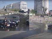 В Харькове произошло ДТП с авто без водителя