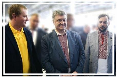 Макс Поляков показал Петру Порошенко космический R&D центр Firefly в Днепре