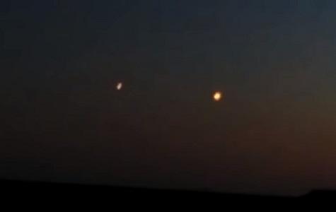 Над Одессой обнаружили огни пришельцев