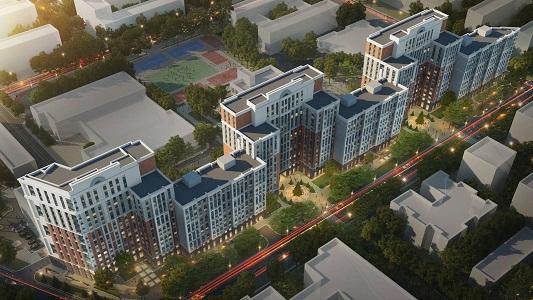 Особенности жилого комплекса Greenville Park в Киеве