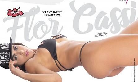 Популярная модель Флоренс Касси снялась в откровенном виде для обложки Chilanga Surf Mexico (11 фото)