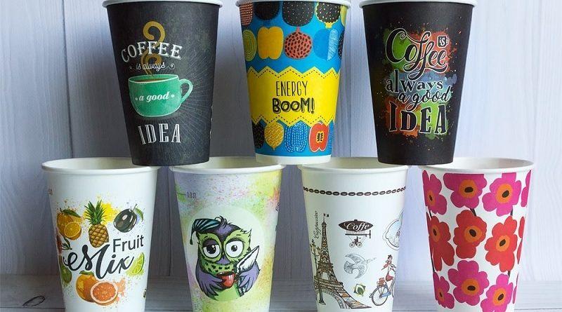 Где заказать бумажные однослойные стаканчики в Украине и каковы их особенности