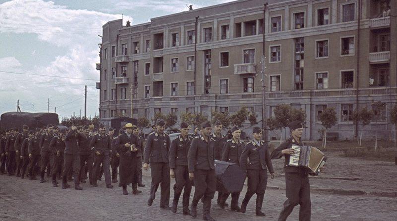 Как жил оккупированный Харьков в 1942 году