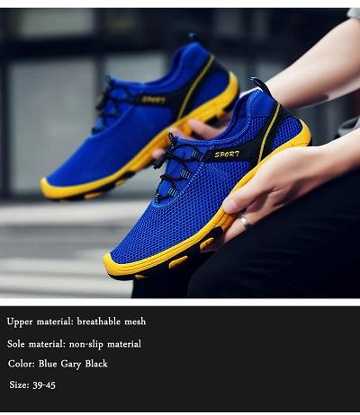 Летние мужские дышащие теннисные кроссовки