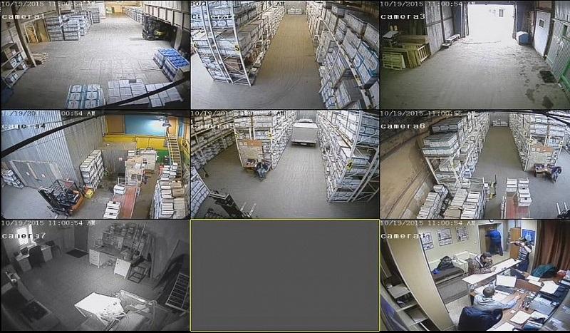 Как организовать охрану склада в Киеве с помощью технических средств