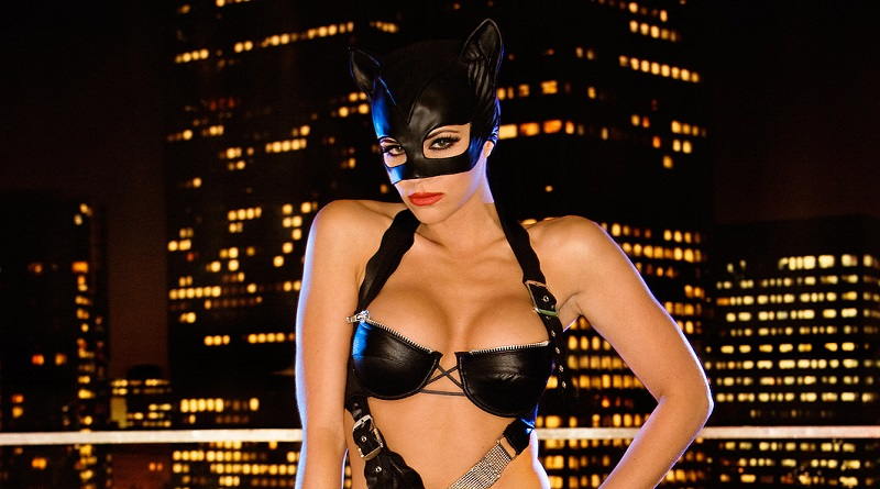 Модели Playboy испытали на прочность супергеройские образы (36 фото)