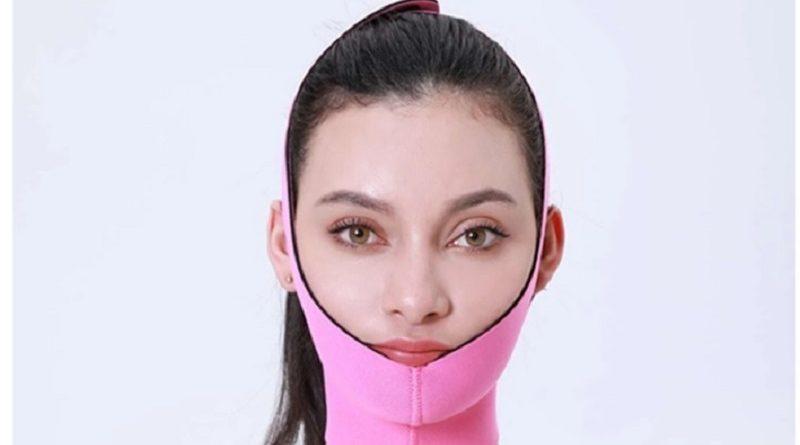 Зачем женщина надела странную повязку? Попробуйте дать адекватный ответ
