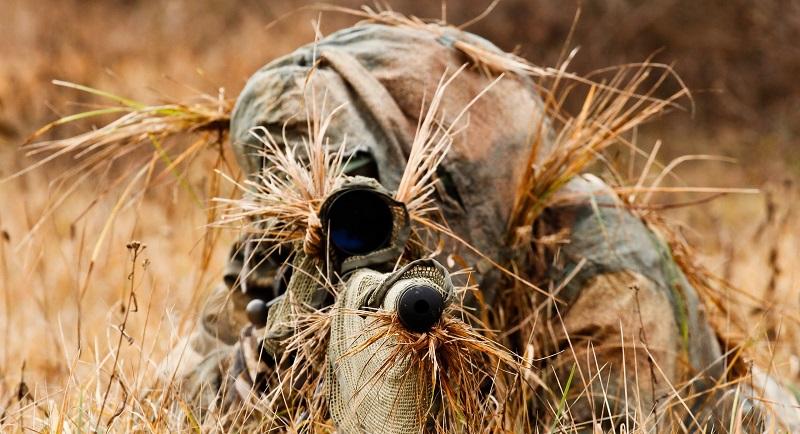 Найдите снайпера в холмистой местности - задача высокой сложности