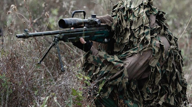 Поиск снайпера. Попробуйте найти стрелка на местности с речкой