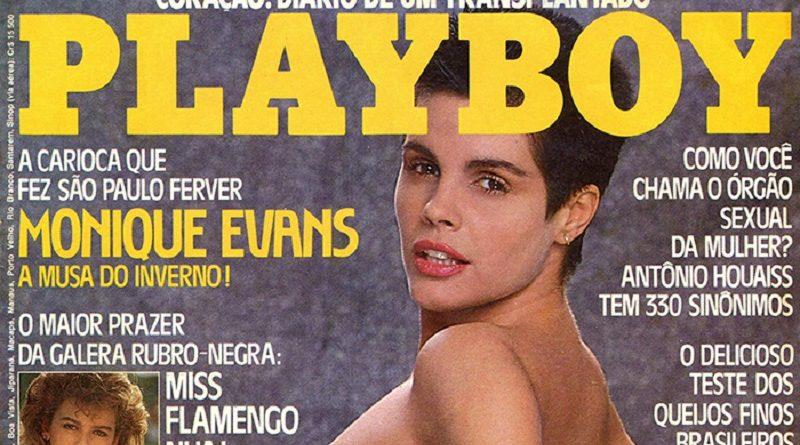 Playboy Бразилия июль 1985 - триумф Моники Эванс (21 фото)