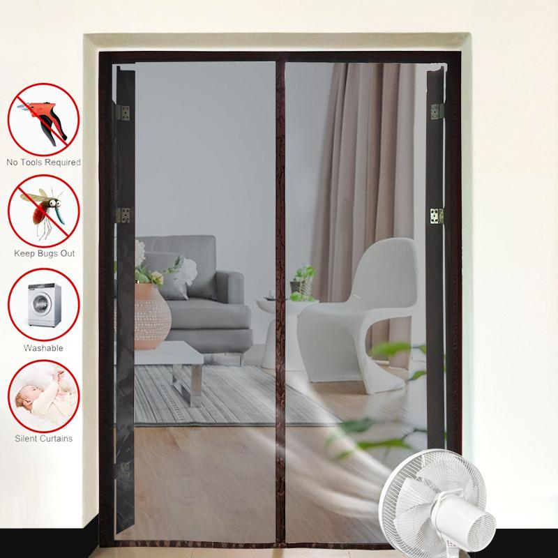 Магнитная москитная сетка на дверь и окно от Алиэкспресс