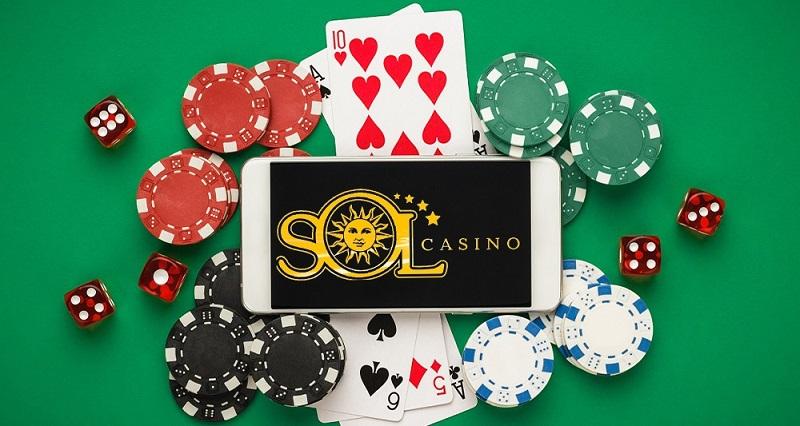 Какой контент находится в свободном доступе на Sol casino