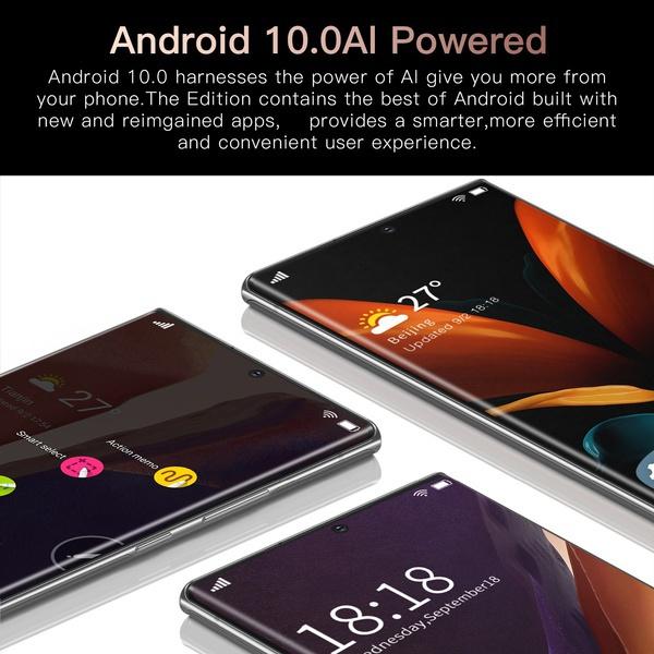 Стильный смартфон Galay S21 + 7,3 дюйма стал хитом Алиэкспресс